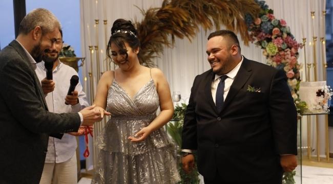 Samsun Haber - Seren ve Caner'den evliliğe ilk adım