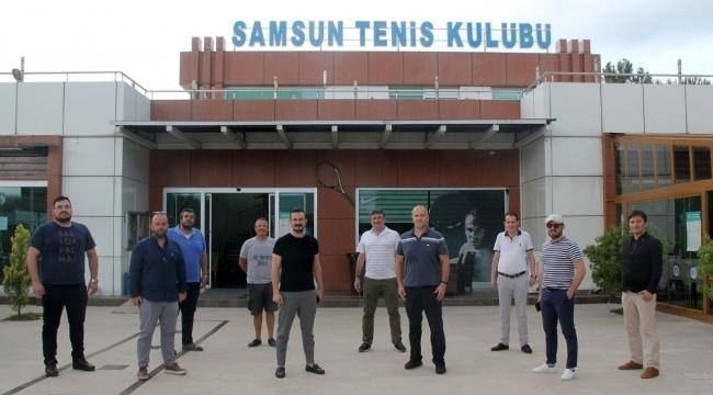 Samsun Haber - Tenis Kulubü'nden SAMGİAD üyelerine ayrıcalık