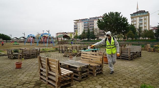 Samsun Haber - Terme Belediyesi tedbiri elden bırakmıyor