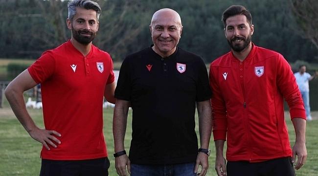 Samsunspor Erkam Reşman ve Ahmet Altın ile sözleşme yeniledi