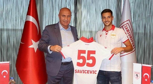 Samsunspor haber - Yılport Samsunspor ilk transferi gerçekleştirdi