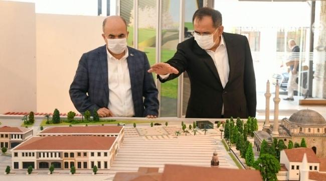 Vali Dağlı'dan Başkan Demir'e ziyaret