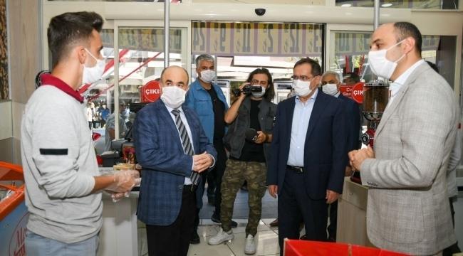 Başkan Demir, denetimde