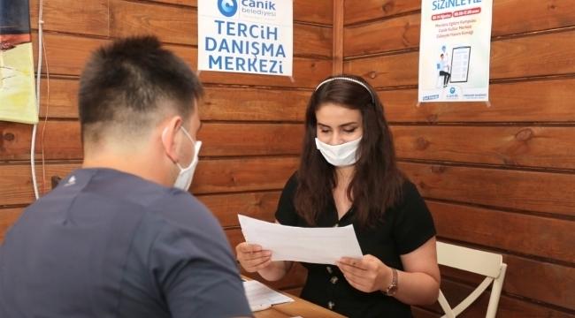 Canik Belediyesi'nden öğrencilere özel hizmet