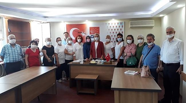 CHP Samsun kadınlarından İstanbul Sözleşmesi açıklaması