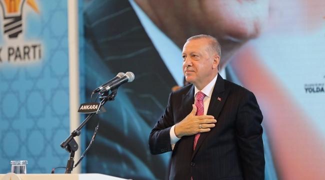 Cumhurbaşkanı Erdoğan: Türkiye için kurduğumuz hayalleri gerçeğe dönüştürüyoruz