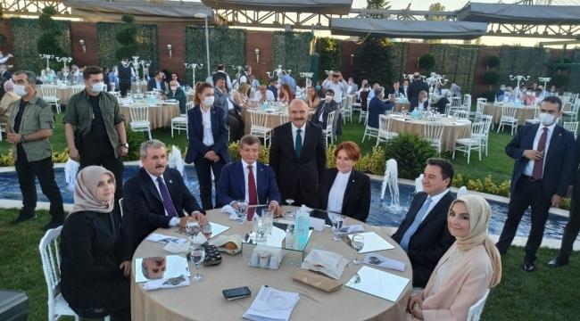 Milletvekili Usta'nın kızının düğününe 4 partinin genel başkanı katıldı
