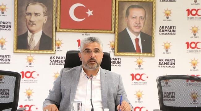 samsun haber -Başkan Aksu'dan önemli açıklamalar