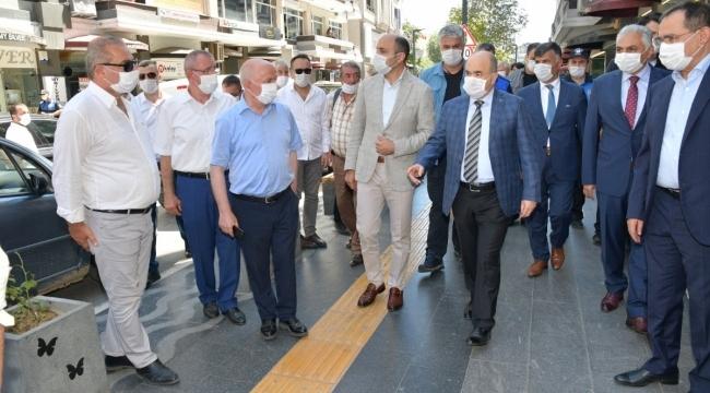 samsun haber - Başkan Çakır denetimlerde yerini aldı