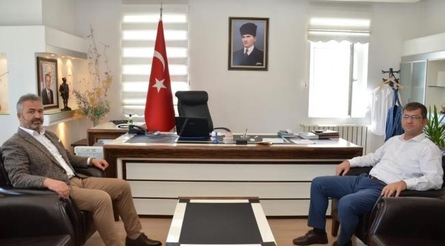 samsun haber - Başkan Topaloğlu'ndan yeni kaymakama ziyaret