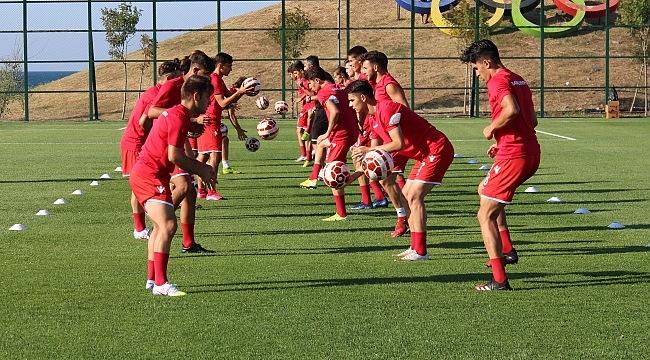 samsun haber - Futbol Akademi Takımları yeni tesislerde çalışmaya başladı