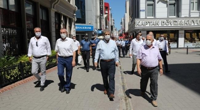 samsun haber - İlkadım'da geniş çaplı pandemi denetimi