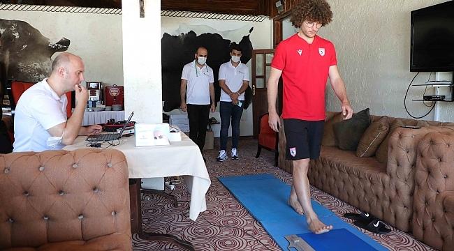 samsun haber - Kırmızı beyazlı ekibe ayak analizi