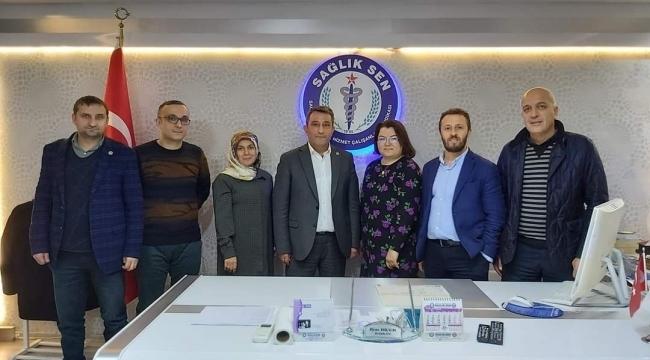 samsun haber - Sağlık-SEN Samsun'da yetkiyi kaptırmadı