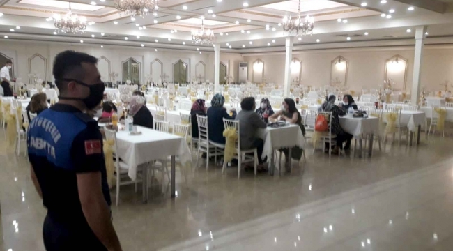 samsun haber - Samsun'da düğün salonları denetlendi