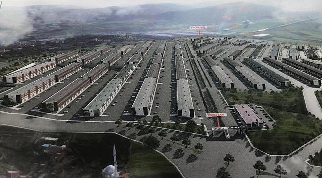 samsun haber - Samsun'un yeni sanayi sitesi yapım aşamasına geldi