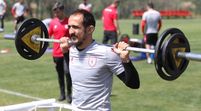samsun haber - Samsunspor son sürat hazırlıklarını sürdürüyor