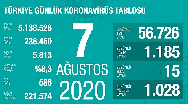 Türkiye'de vaka sayıları artmaya devam ediyor