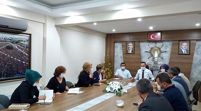 AK Parti Atakum ilçede görev dağılımı yapıldı