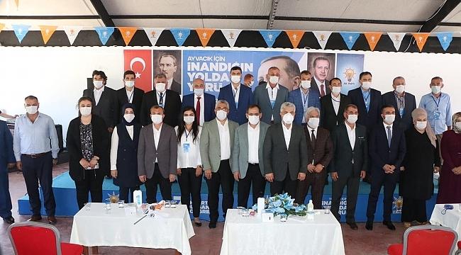 AK Parti Ayvacık'ta Ali Yiğit, Çarşamba'da Taner Özden dedi