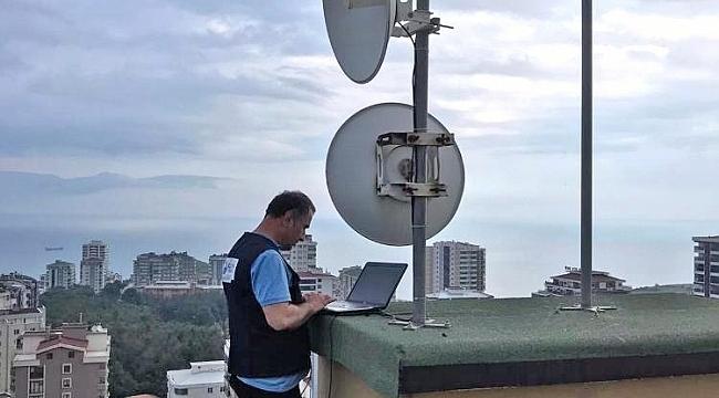 Canik Belediye'sinden öğrencilere ücretsiz internet hizmeti