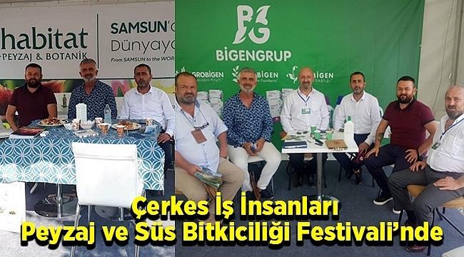 Çerkes İş İnsanları Peyzaj ve Süs Bitkiciliği Festivali'nde