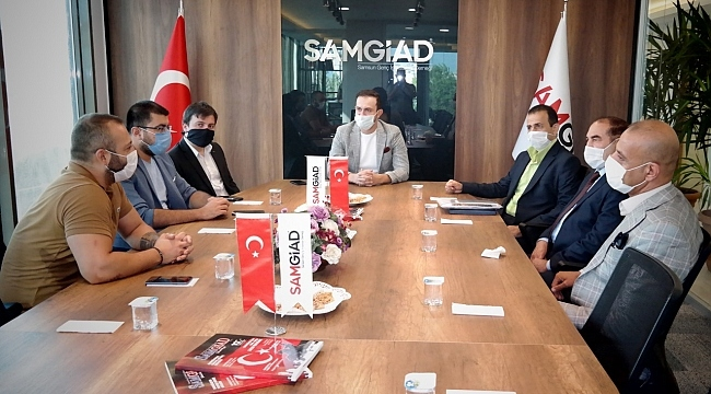samsun haber - Arap İşadamları SAMGİAD'da