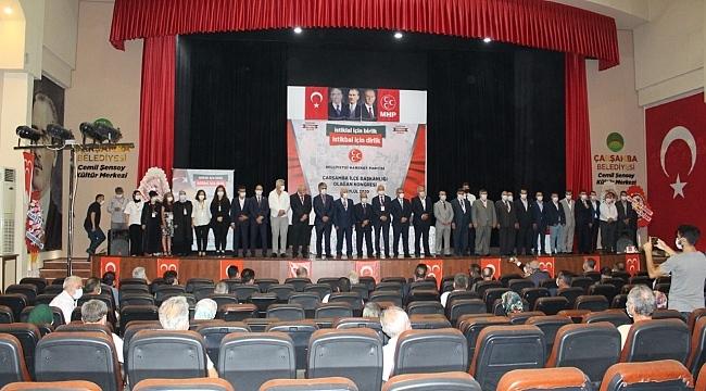 samsun haber - MHP Samsun'da ilçe kongrelerini tamamladı