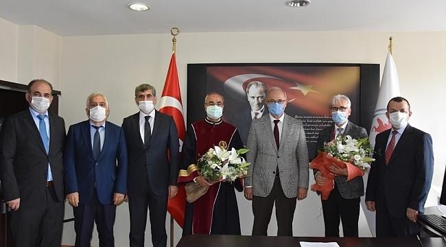 samsun haber - OMÜ Tıp Fakültesi Dekanlığı'nda görev değişimi