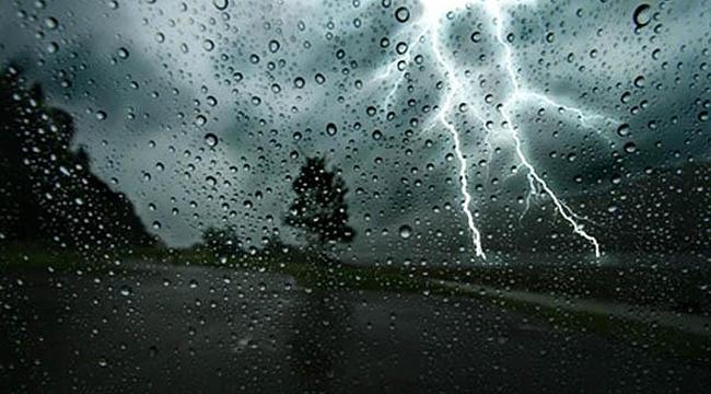 samsun haber - Samsun'a gök gürültülü sağanak yağış geliyor