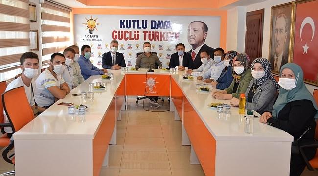 samsun haber - Suat Kılıç Başkan Topaloğlu'nu ziyaret etti