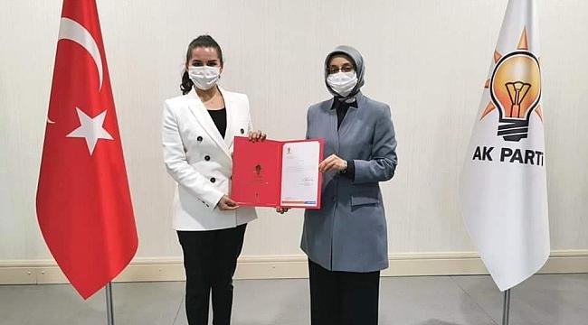AK Parti İlkadım Kadın Kolları Başkanlığı'na Merve Bayraktar Keskin'i atandı