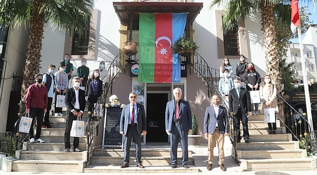 İlkadım Belediyesi'nden başarıya Samsunspor forması