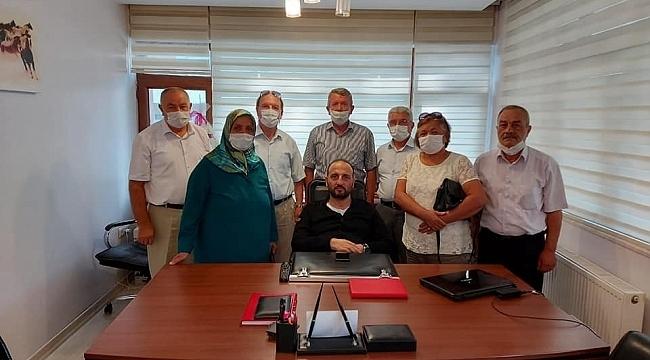 İYİ Parti GİK üyesi Ömer Süslü'ye ziyaretçi akını