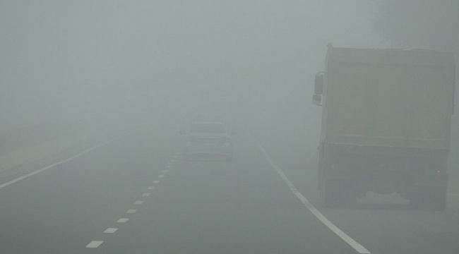 Meteorolojiden Samsun'un iç kesimlerine sis uyarısı