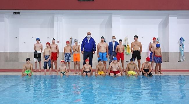 samsun haber - Canik'te yüzme bilmeyen çocuk kalmayacak