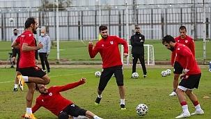 Samsunspor Keçiören maçı öncesi taktik çalıştı