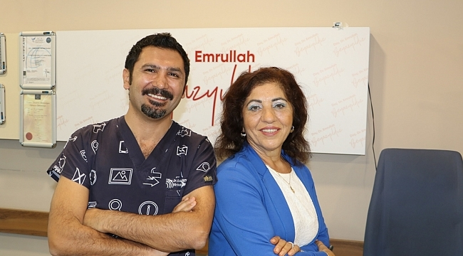 Almanya'dan Samsun'a gelen hasta şifayı Büyük Anadolu Hastaneleri'nde buldu