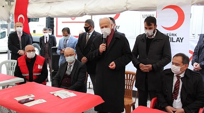 MHP Samsun bağış kampanyası başladı