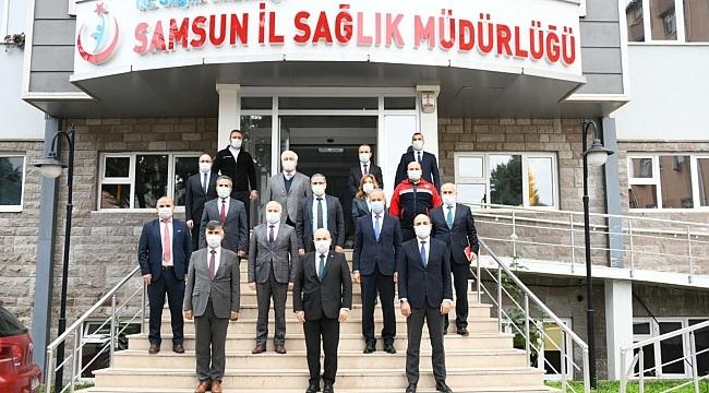 Samsun'da virüse karşı yeni filyasyon ekipleri kurulacak