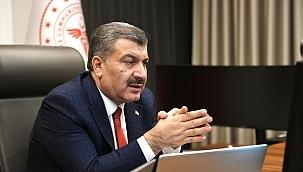 Sağlık Bakanı Koca: Samsun'da artış yüzde 35