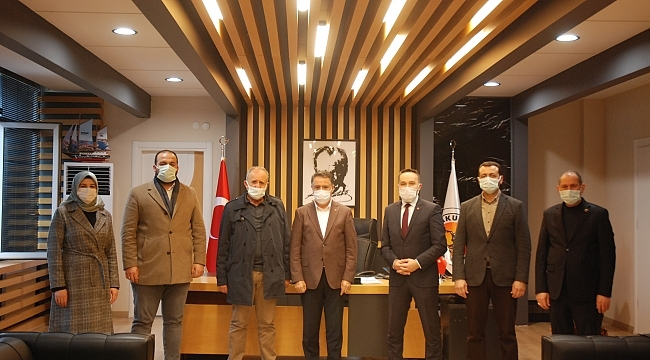 AK Parti Atakum İlçe teşkilatından geçmiş olsun ziyareti