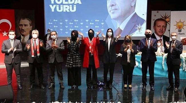 AK Parti Samsun İl Kadın Kolları Başkanı Keser güven tazeledi