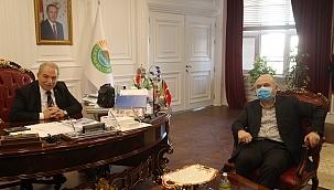Başkan Demirtaş Milletvekili Usta'yı ağırladı