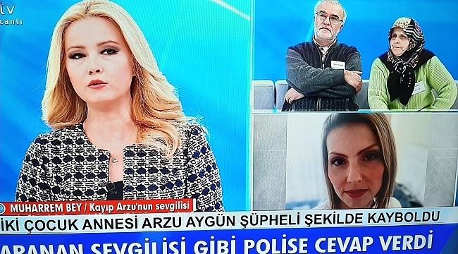Samsun'da 39 gündür kayıp Arzu Aygün'ü Müge Anlı arıyor