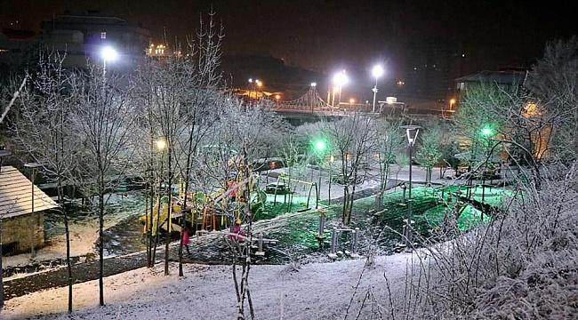 Samsun'un iç ve yüksek kesimlerine kar uyarısı