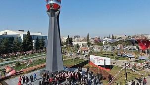 Samsunspor Anıtı törenle açıldı