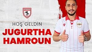 Samsunspor Jugurtha Hamroun'u renklerine bağladı
