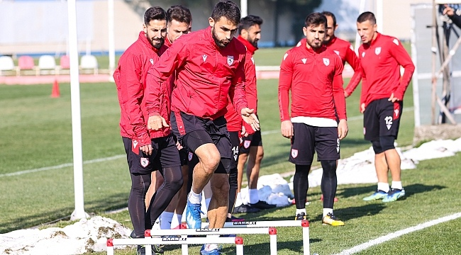 Samsunspor Eskişehirspor'a hazır