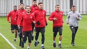 Samsunspor GZT Giresunspor maçı hazırlıklarına başladı